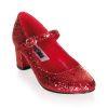 SCHOOLGIRL-50G Red Glitter